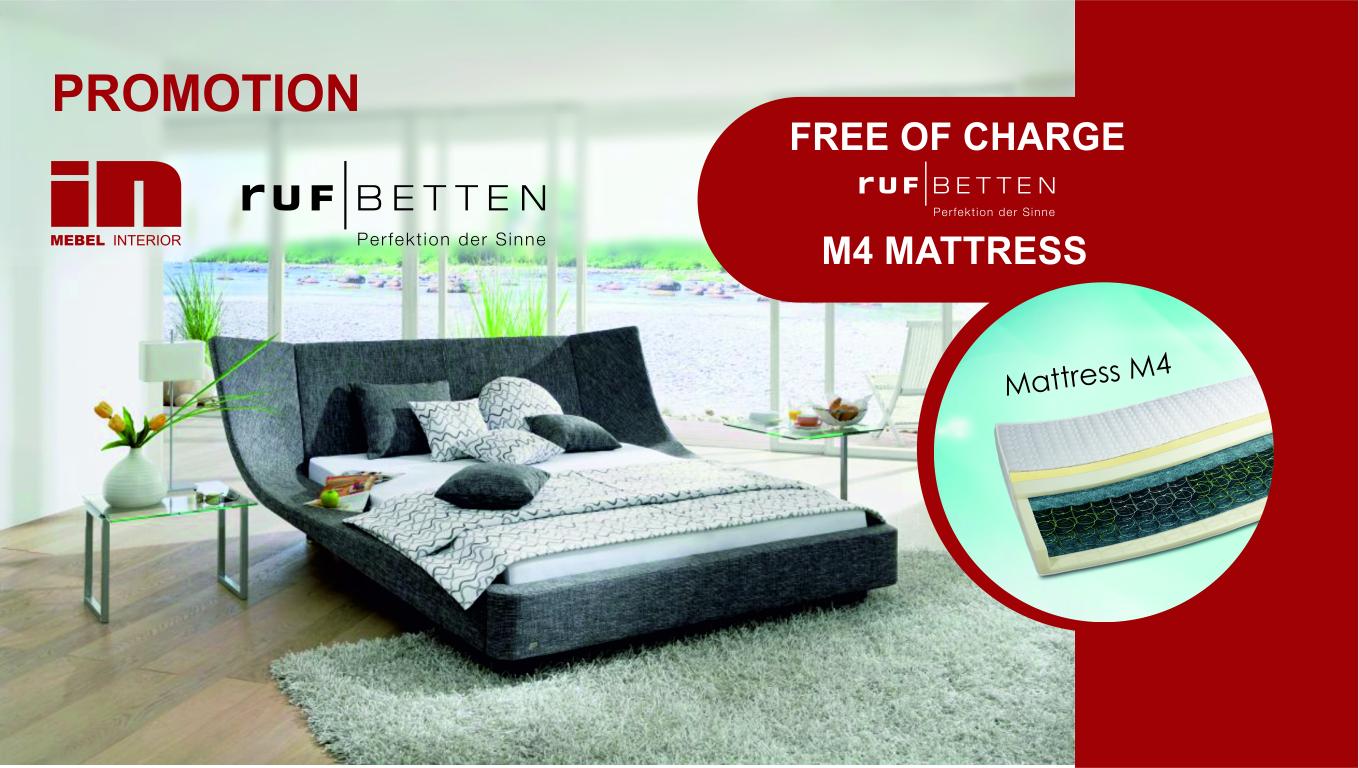 Mebel Interior & RUF Betten promo