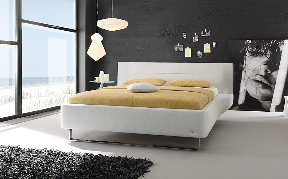 compact upholstered beds. Black Bedroom Furniture Sets. Home Design Ideas