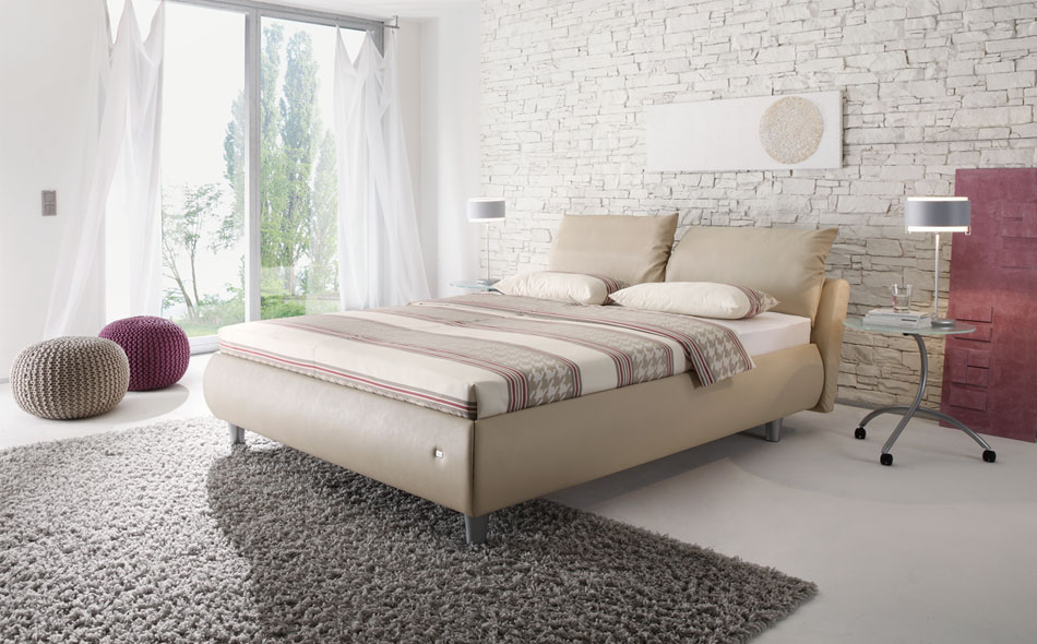 Compact Upholstered Beds Mebin Kz
