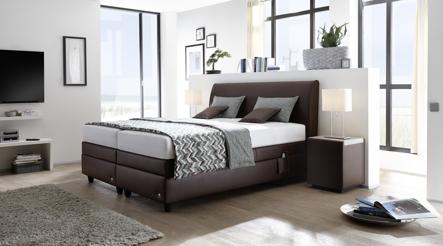 RUF Betten Announces A New Bed U2013 Mercata. Fully Boxspring Bed With Maximal  Comfort Of 3 Mattresses Gives You Unbelievable Feeling And Relaxation.